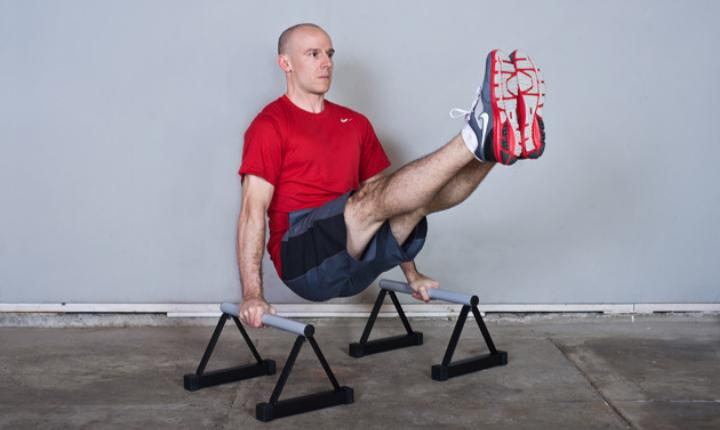 5 Great Parallette Bar Exercises To Get In Shape