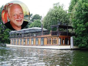 David Gilmour's yacht/recording studio