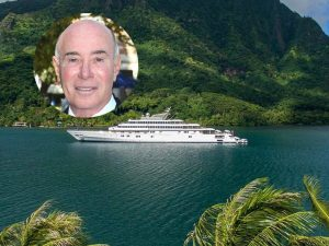 David Geffen's yacht sailing