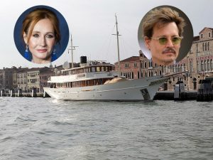 JK Rowling and Johnny Depp both owned the same yacht