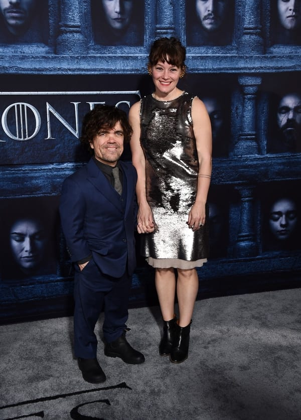 Peter Dinklage and Erica Schmidt Game of Thrones