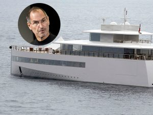 Steve Jobs' family's yacht