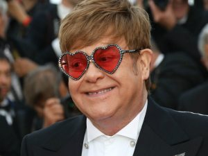 Elton John enjoys sailing