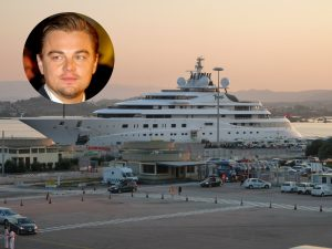 Leonardo DiCaprio and his favorite yacht for throwing parties