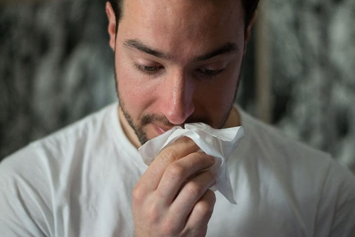 If allergy season is making you feel blue, you're not alone