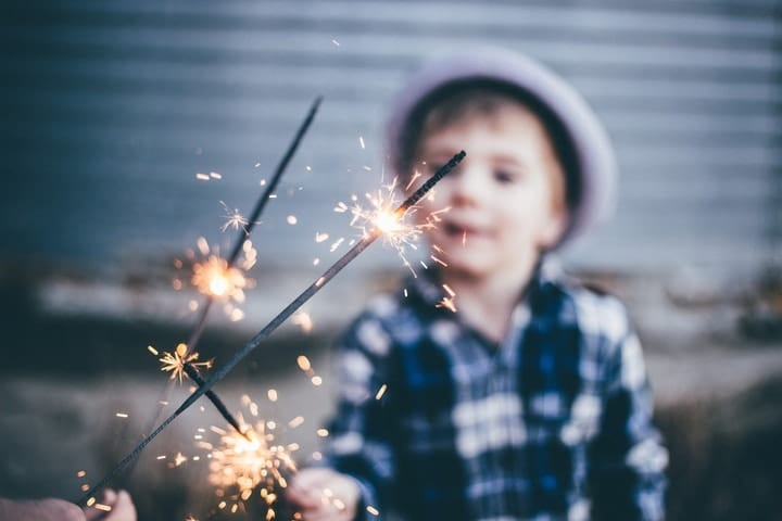 fireworks safety, 4th of July