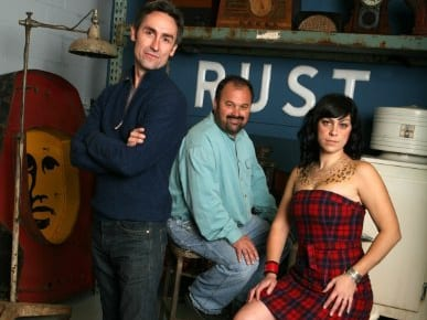 American Pickers, cast, Mike, Frank, Danielle