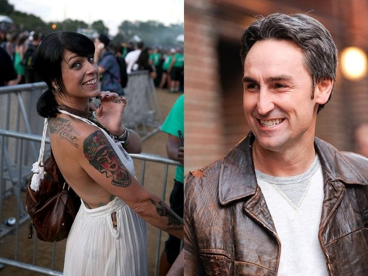 American Pickers, Mike Wolfe, Danielle Colby, met picking
