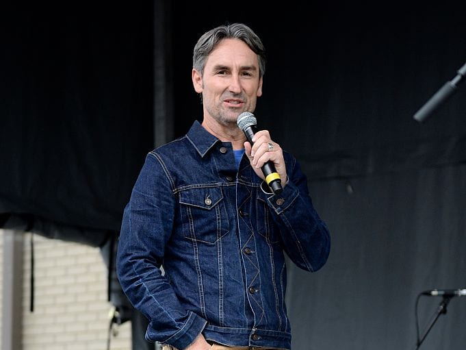 Mike Wolfe, American Pickers, speaking
