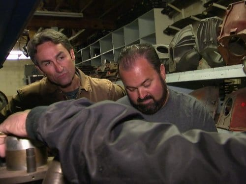 Mike Wolfe and Frank Fritz, American Pickers, show ending