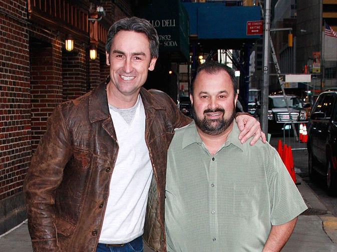Mike Wolfe, Frank Fritz, American Pickers,