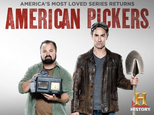 American Pickers, theme song, jingle punks