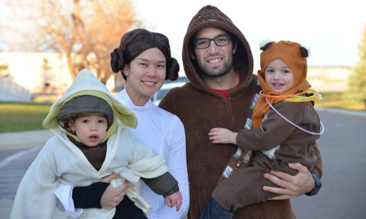 The best DIY Halloween costumes for the whole family