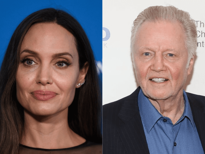 Angelina Jolie and John Voigt