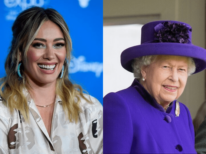 Hillary Duff and Queen Elizabeth II