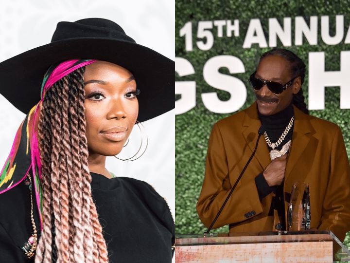 Snoop Dogg and Brandy Norwood