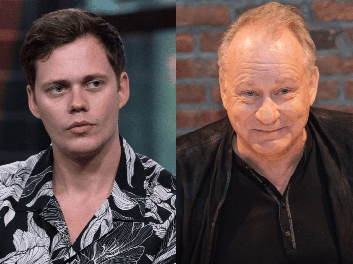 Bill Skarsgard and Stellan Skarsgard