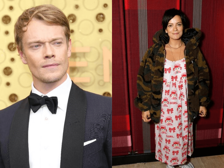 Alfie Allen and Lilly Allen