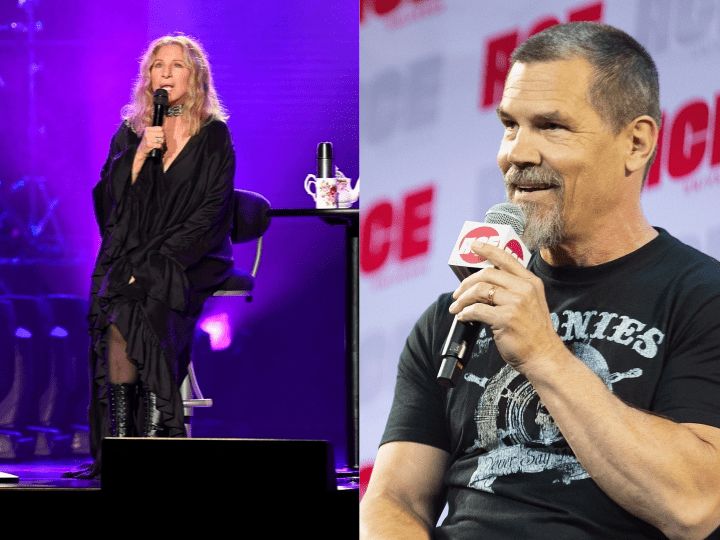 Barbra Streisand and Josh Brolin