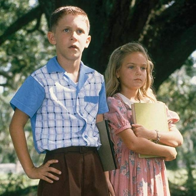 young Forrest, young Jenny, Forrest Gump