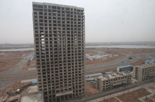 Kangbashi district, Ordos city, Inner Mongolia
