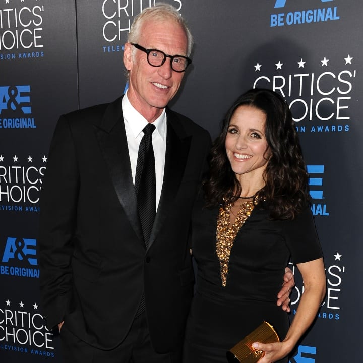 Julia Louis Dreyfus Husband: Celebs Who Married Their High School/college Sweethearts