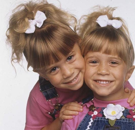 Mary Kate and Ashley Olson Michelle Tanner Full House TGIF