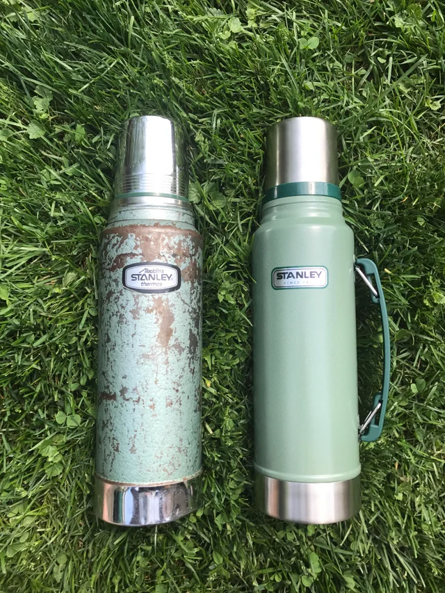 buy it for life Stanley Thermos Vacuum Bottle, old vs new