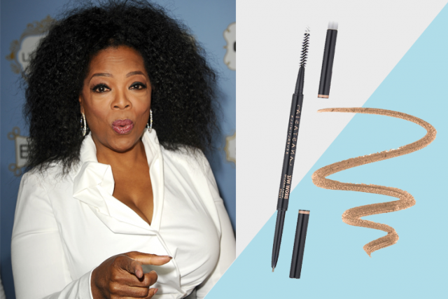 celebrity favorite beauty products, oprah for Anastasia Beverly Hills Brow Wiz