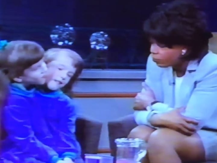 Oprah Winfrey, talk show, Abby and Brittany
