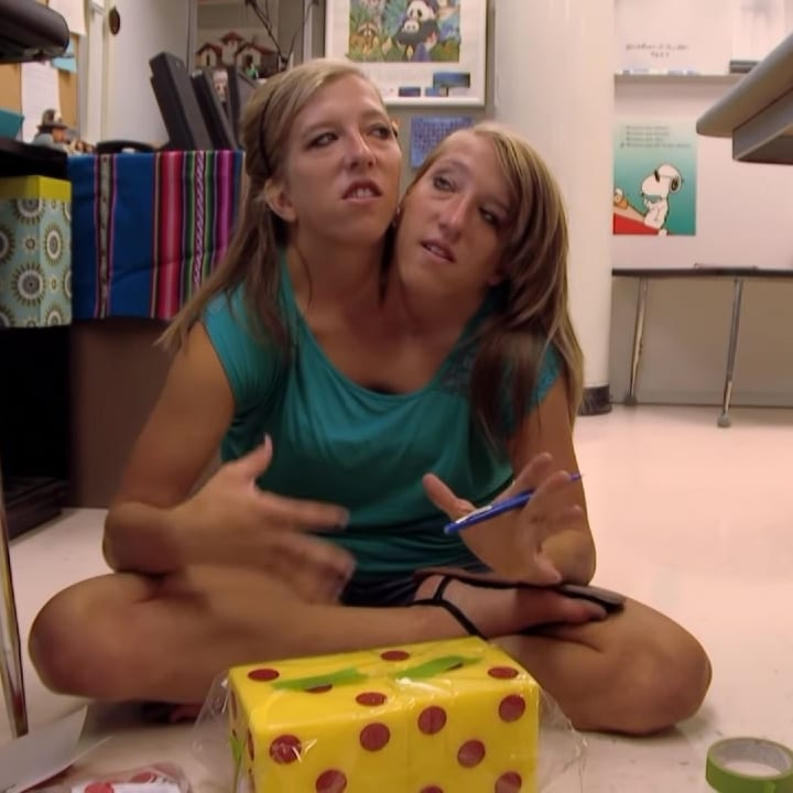 Brittany and Abby, teachers, conjoined twins, classroom