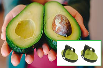 Evriholder Avo Saver, Avocado Holder with Rubber Strap to Secure Your Food & Keep it Fresh