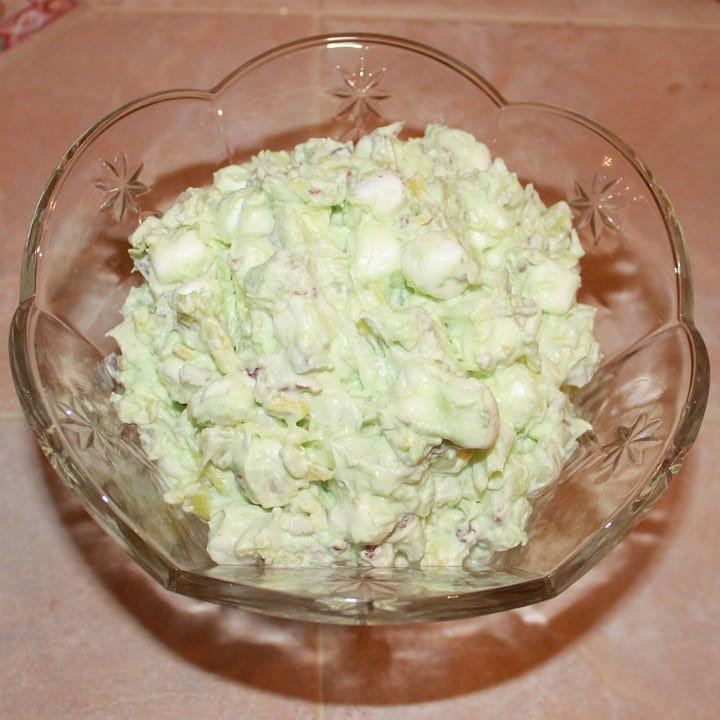 watergate salad in a bowl