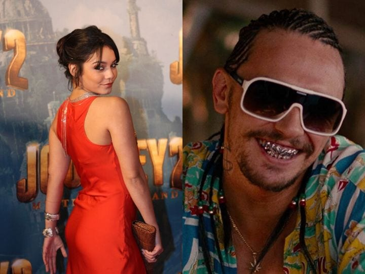 Vanessa Hudgens, James Franco, actors that wouldn't kiss