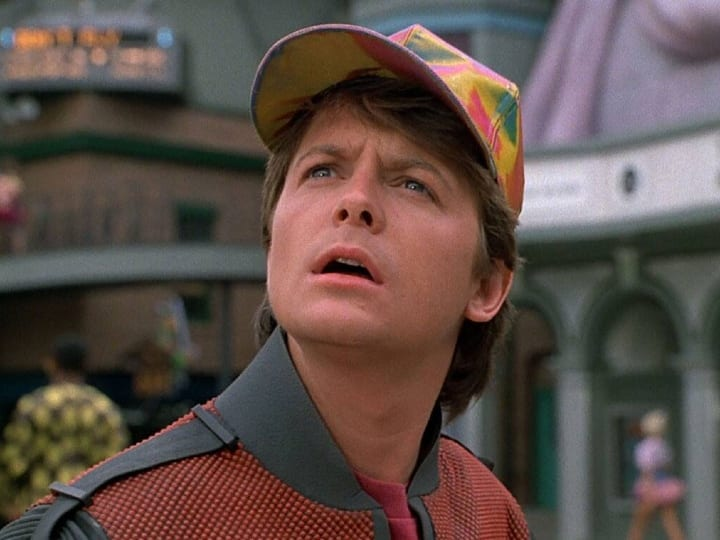 Back to the Future: Part II, plot hole, nothing changes, time travel