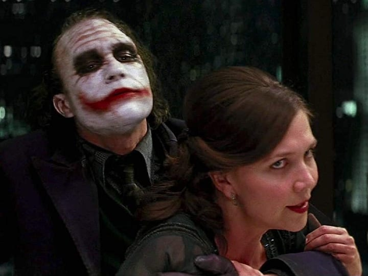 The Joker, Batman, The Dark Knight, plot hole