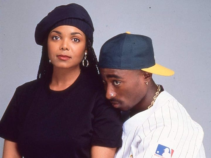 Janet and Tupac, Poetic Justice, actors who refused to kiss