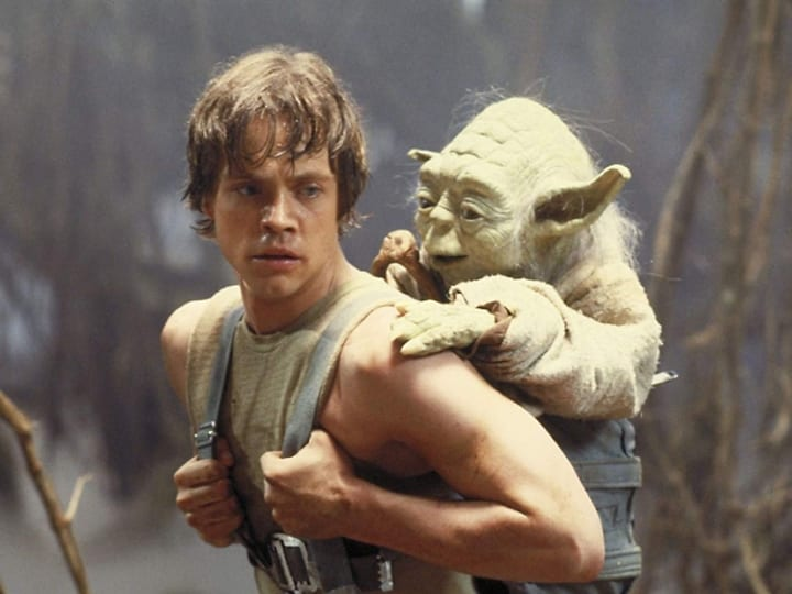 Yoda, Luke, plot hole, Empire Strikes Back