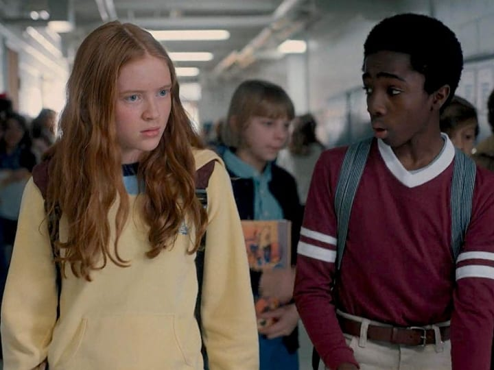 Caleb McLaughlin and Sadie Sink, actors that didn't want to kiss, Stranger Things