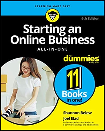 Starting an Online Business All-in-One For Dummies 6th Edition, Amazon