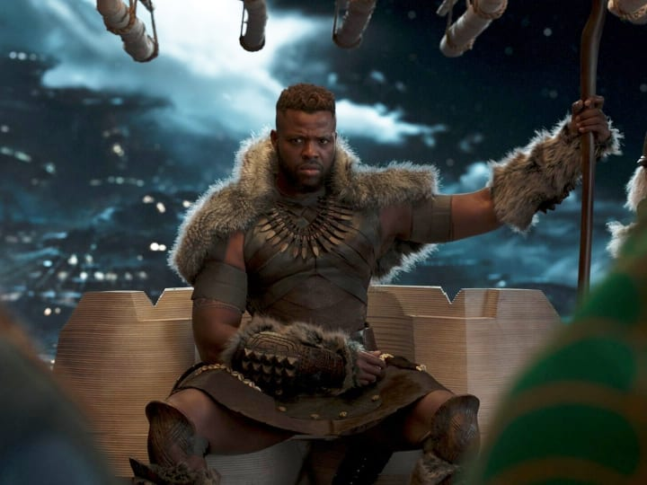 Black Panther, M'Baku, Winston Duke