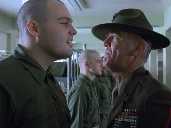 Full Metal Jacket, drill sergeant