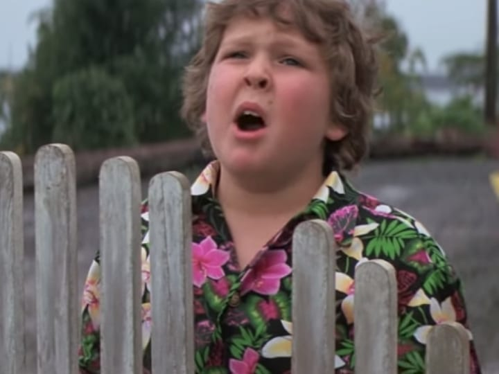 Chunk, The Goonies