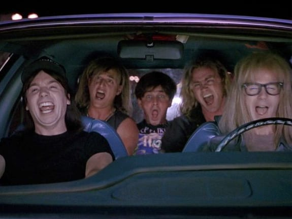 Wayne's world, Queen, Bohemian Rhapsody
