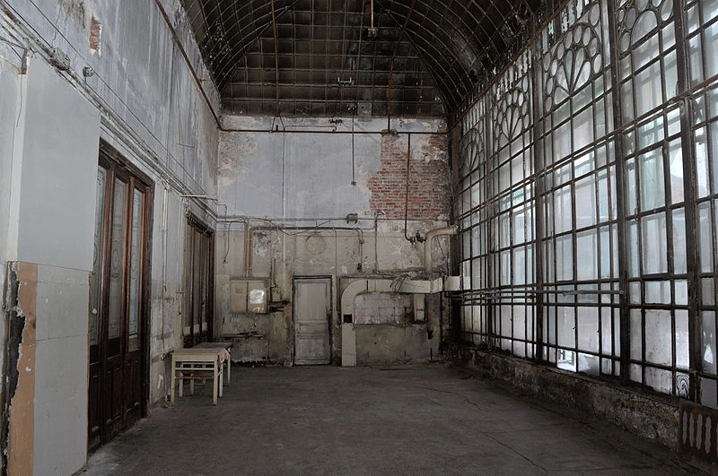 mysterious abandoned places, Brusnitsyn Mansion