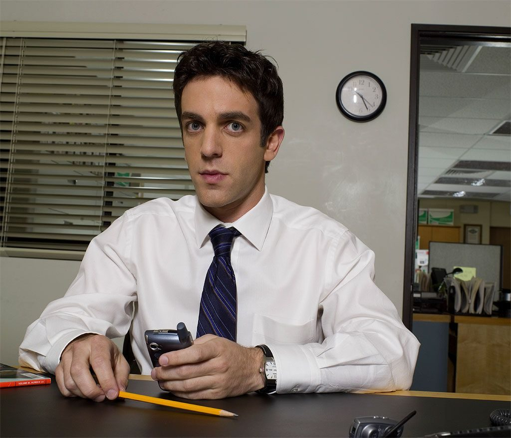 BJ Novak as Ryan from the Office