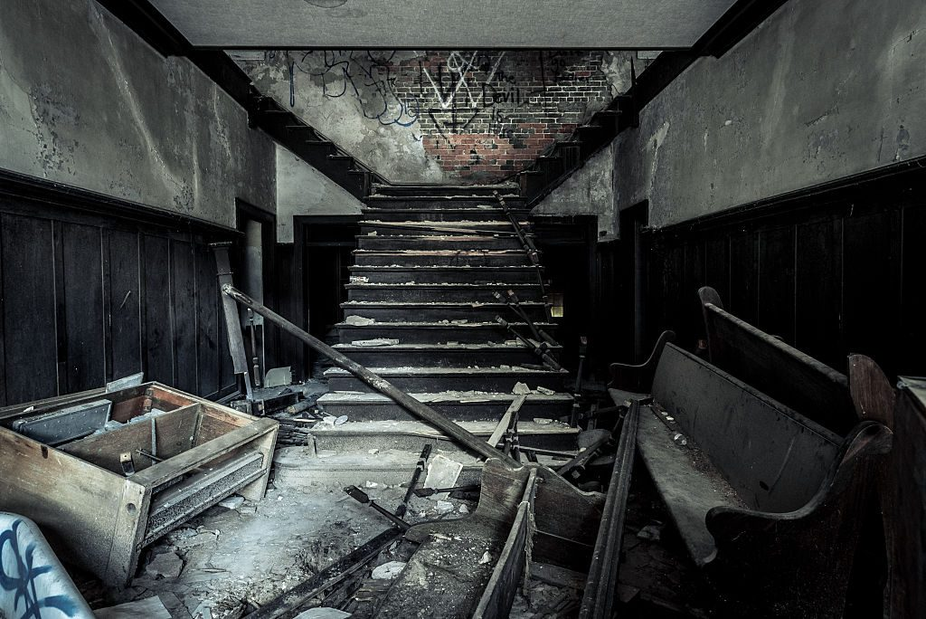 mysterious abandoned places, Stonewall Juvenile Detention Center