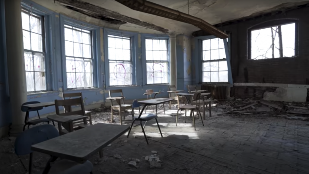 mysterious abandoned places, The Experimental School for Teaching and Training Idiotic Children