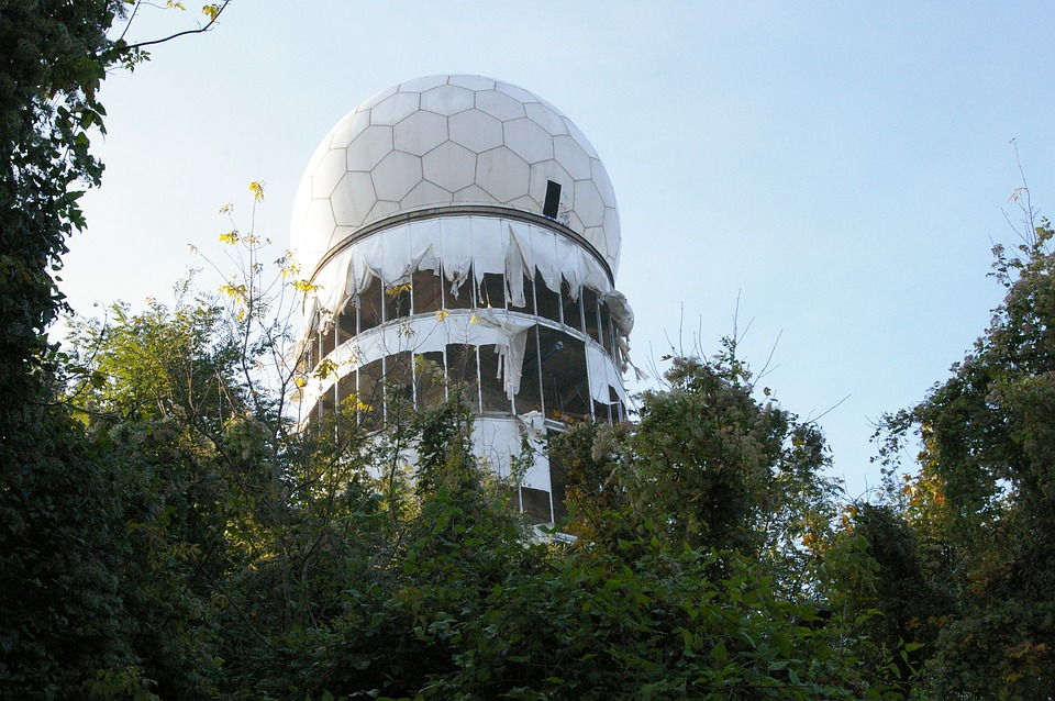 mysterious abandoned places, The Teufelsberg (Devil's Mountain), Germany