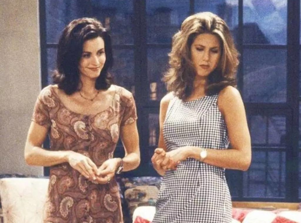 fun facts about friends, monica and rachel